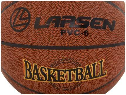 Баскетбольный мяч Larsen PVC6 №6 brown