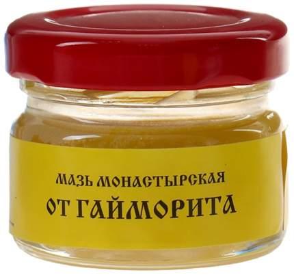 Мазь Монастырская Бизорюк Фабрика здоровья От гайморита 25 мл