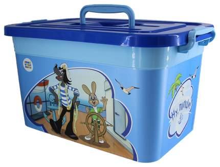 Ящик для хранения игрушек Полимербыт Союзмультфильм 81045 в ассортименте