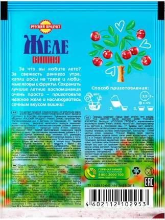 Желе быстрого приготовления Русский продукт вишня 50 г