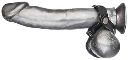 Утяжка на пенис BlueLine V-style Cock Ring с разделителем мошонки