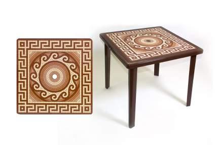 Стол квадратный Hoff Греческий орнамент