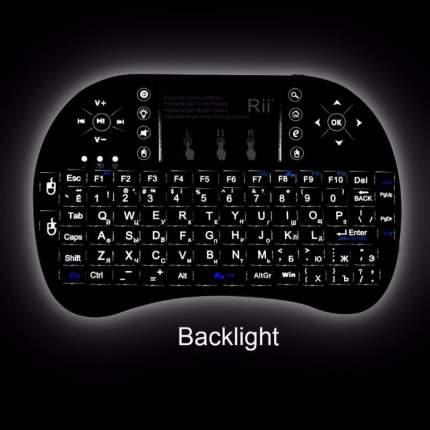 Беспроводная мини-клавиатура Rii Mini i8+ (RT-MWK08+)