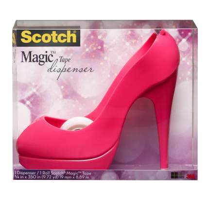 Диспенсер для клейкой ленты Розовая туфелька Scotch 3M