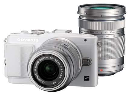 Фотоаппарат системный Olympus Pen E-PL6 14-42+40-150 Kit White