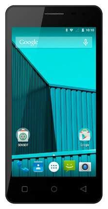 Смартфон Senseit E400 8Gb Blue