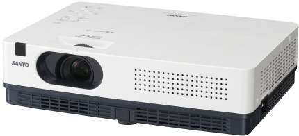Видеопроектор мультимедийный Sanyo PLC-XW300 White