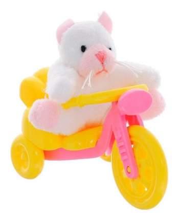 Мягкая игрушка Beanzees B32011 Котенок с велосипедом