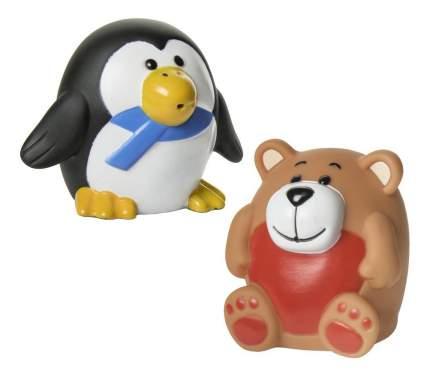 """Набор игрушек для ванны """"зоопарк"""", 2 шт."""