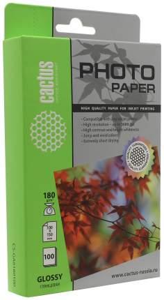 Фотобумага для принтера Cactus Standart CS-GA6180100 Белый 100 листов