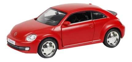 Машина Uni-Fortune 1:32 Volkswagen New Beetle 2012 инерционная красный матовый