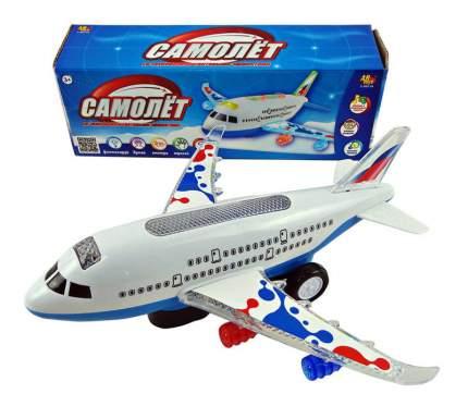 Самолет ABtoys с электромеханическими, световыми и звуковыми эффектами c-00116