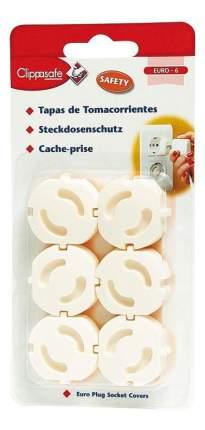 Защита для розеток (6 штук), белый
