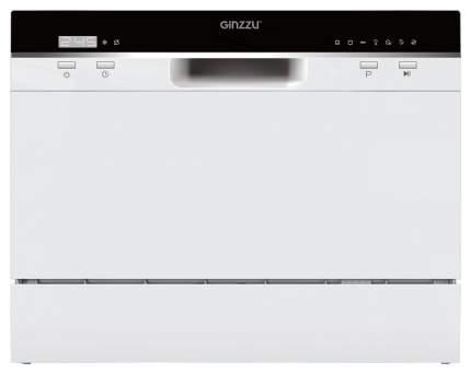 Посудомоечная машина компактная Ginzzu DC361 white