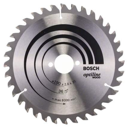 Диск пильный Bosch 190х30мм 2608640616