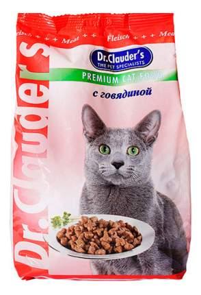Сухой корм для кошек Dr.Clauder's Premium Cat Food, говядина, 15кг