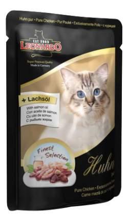 Влажный корм для кошек Leonardo Finest Selection, курица, 16шт, 85г