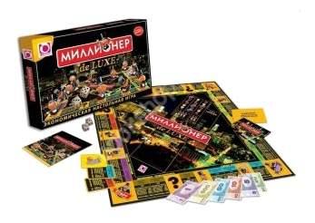 Экономическая настольная игра Оригами Миллионер De Luxe
