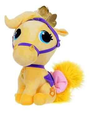 Мягкая игрушка Li Fung Королевские питомцы, Питомец Белоснежки - пони Красотка, 18 см