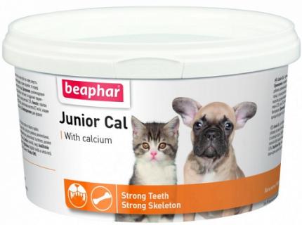 Минеральная смесь для котят и щенков Beaphar Junior Cal, 200 г