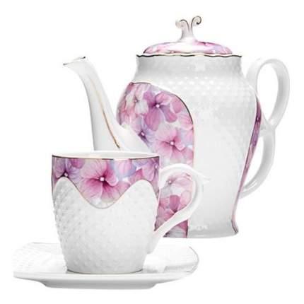 Чайный сервиз LORAINE 13 предметов 220 мл + 1,3 л чайник 26837 13 пр.