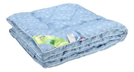 Одеяло детское АльВиТек 110х140 см голубое