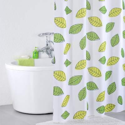 Штора для ванной IDDIS Bean Leaf