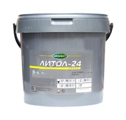 Литиевая смазка OIL RIGHT 9,5кг 6050