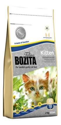 Сухой корм для котят BOZITA Feline Function Kitten, лосось,курица, 2кг