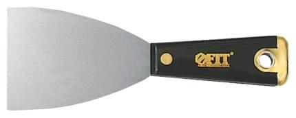 Малярный шпатель FIT Профи для удаления ржавчины 100 мм усиленный