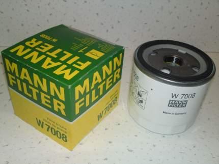 Фильтр масляный двигателя MANN-FILTER W7008
