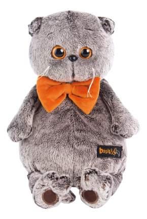 Мягкая игрушка BUDI BASA Ks22-031 Басик в рыжем бархатном банте 22 см