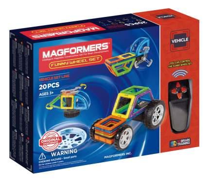 Конструктор магнитный Magformers Funny Wheel Set 20