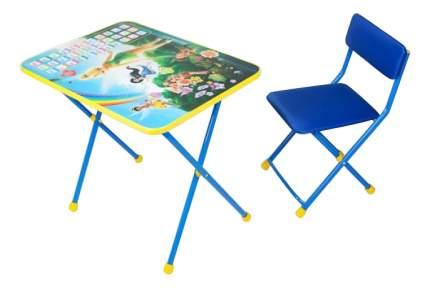 Комплект детской мебели Ника Disney Феи. Азбука голубой