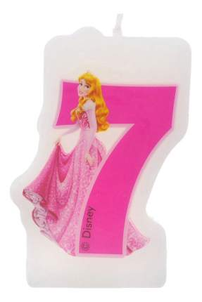 Свечка «Принцессы» 7 лет