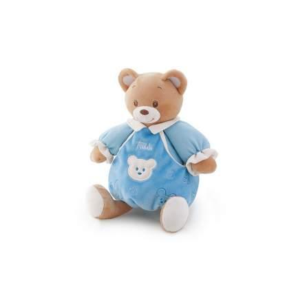 Мягкая игрушка Trudi Мишка в голубом платье со звуком, 25 см