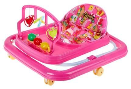 Ходунки детские Selby HG-171 Розовые