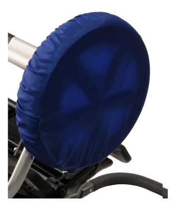 Чехол на колеса детской коляски Чудо-Чадо 2 шт. 28-38 см василек