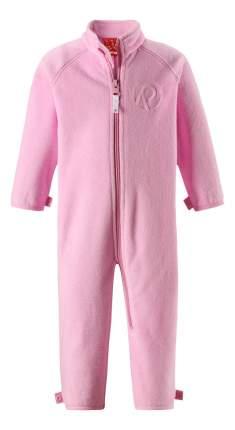 Комбинезон детский Reima Fleece overall Ester 74-98 нежно-розовый флисовый р.74