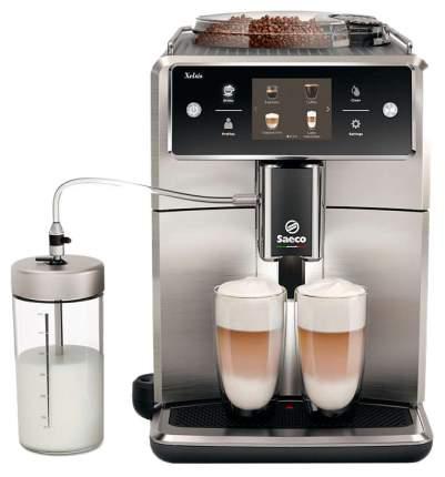 Кофемашина автоматическая Saeco Xelsis SM7685/00 Серебристый, черный