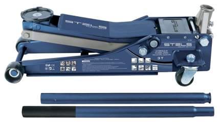 Домкрат гидравлический подкатной Stels 51136 3т 75-515 мм быстрый подъем