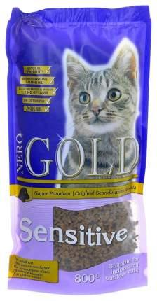 Сухой корм для кошек NERO GOLD Super Premium, ягненок, 0,8кг