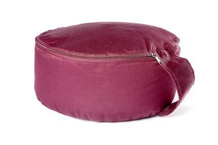 Подушка для йоги RamaYoga Spiritual, красный