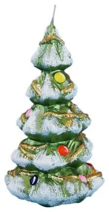 Свеча новогодняя Омский свечной завод 3862 Елочка Новогодняя 12 см