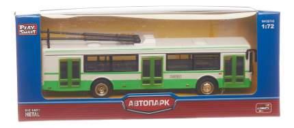 Коллекционная модель Play Smart Троллейбус Лиаз зеленый