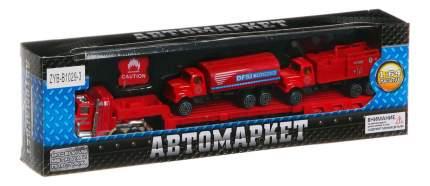 Набор машинок автомаркет пожарные машины 1:64 Zhorya ZYB-B1029-3