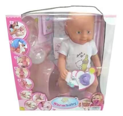 Кукла Shantou Gepai warm baby с аксессуарами 8004-415