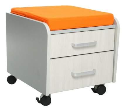 Комод пеленальный Comf-Pro BD-C2TG/KY белый дуб/оранжевая