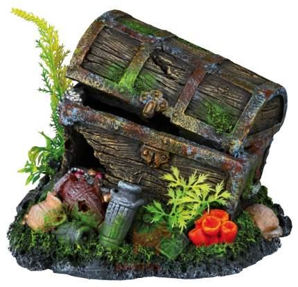 Грот для аквариума TRIXIE Treasure Chest Сундук, полиэфирная смола, 15х16,8х13,8 см