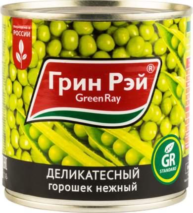 Горошек деликатесный Green Ray нежный 425 мл